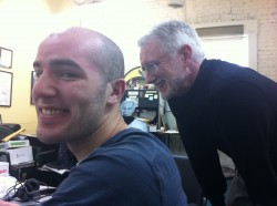 Jacob Caggiano and John Hamer at the Washington News Council