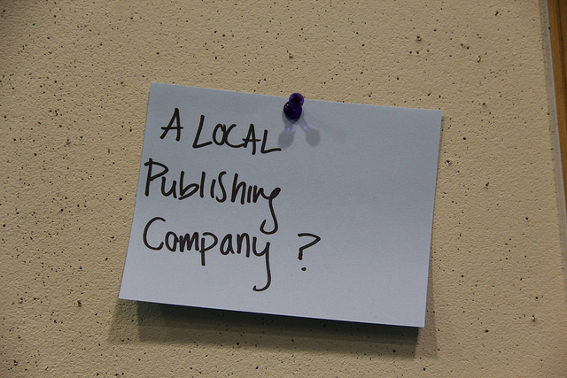 A local publishing company